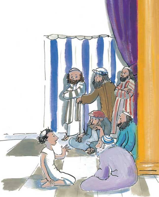 Jezus in de tempel