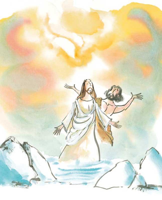 De doop in de Jordaan