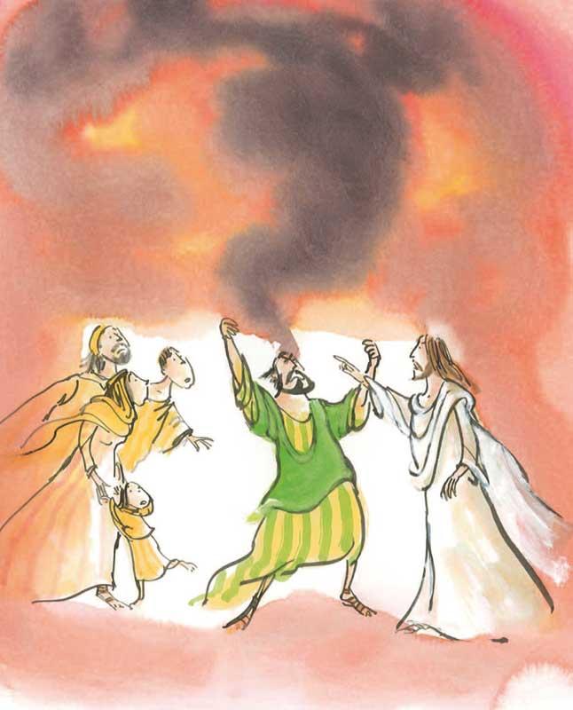 De uitdrijving van de boze geest